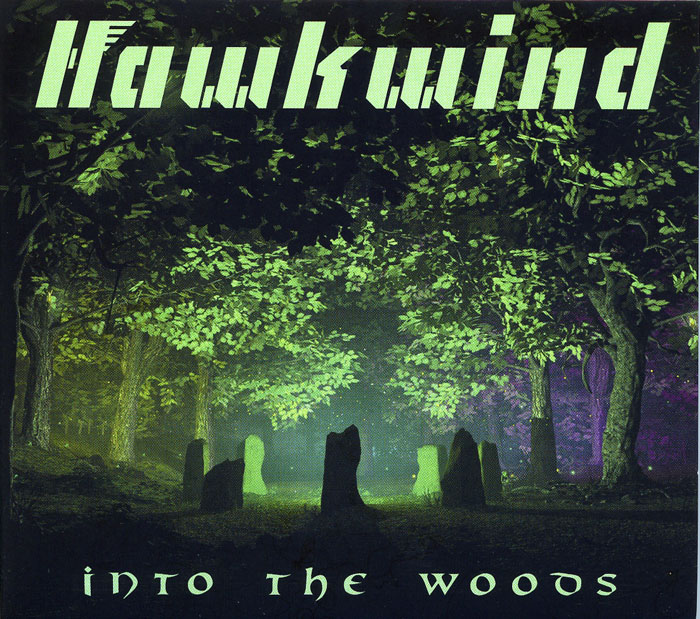 Hawkwind / INTO THE WOODS CD cover