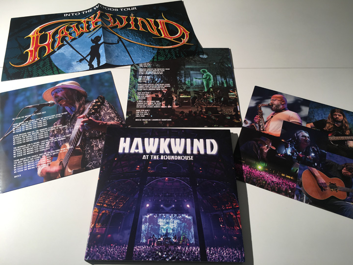 HAWKWIND / AT THE ROUNDHOUSE