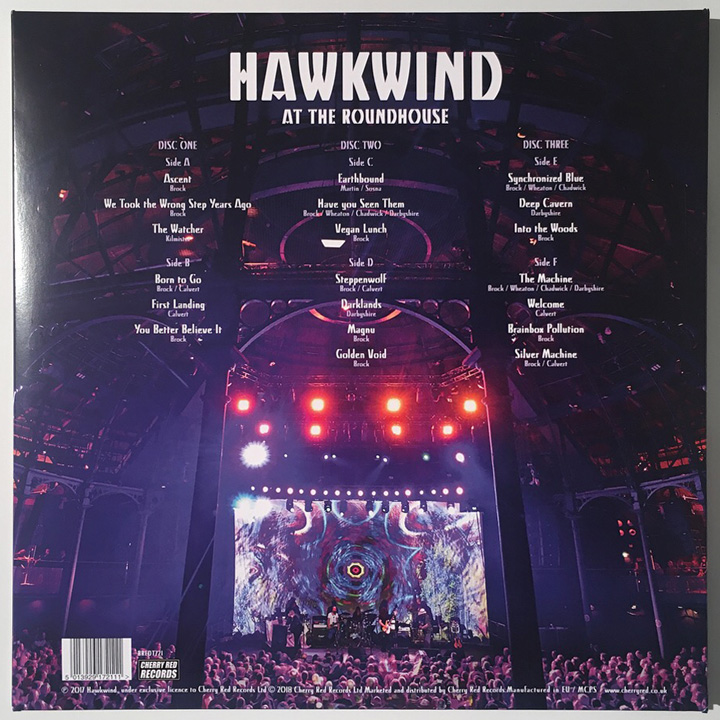 HAWKWIND AT THE ROUNDHOUSE Cover