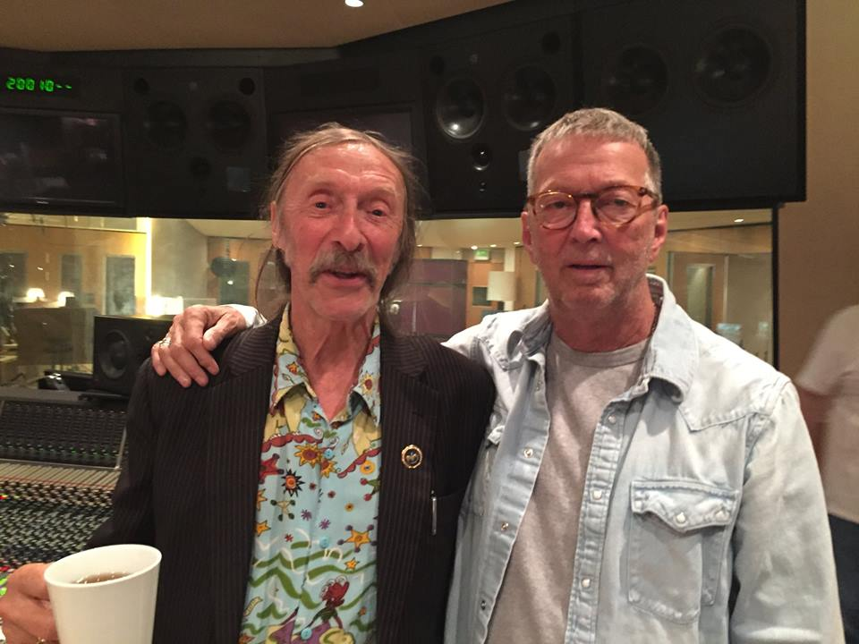 Dave Brock and Eric Clapton