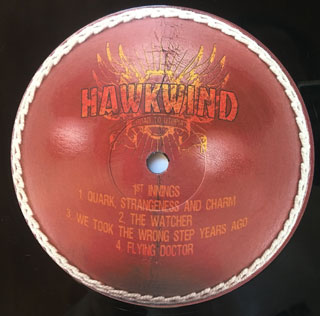 Hawkwind-Road To Utopia label