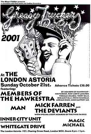 greasy truckers party 2001 poster