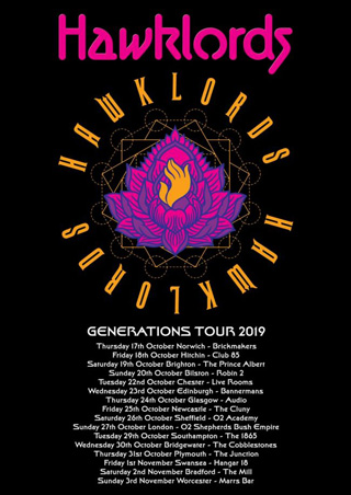 Hawklords Generations Tour 2019