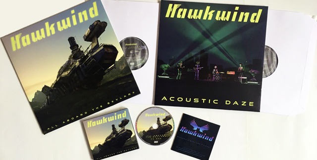Hawkwind / ALL ABOARD THE SKYLARK