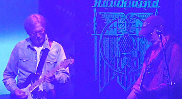 Hawkwind 50th anniversary tour with Eric Clapton