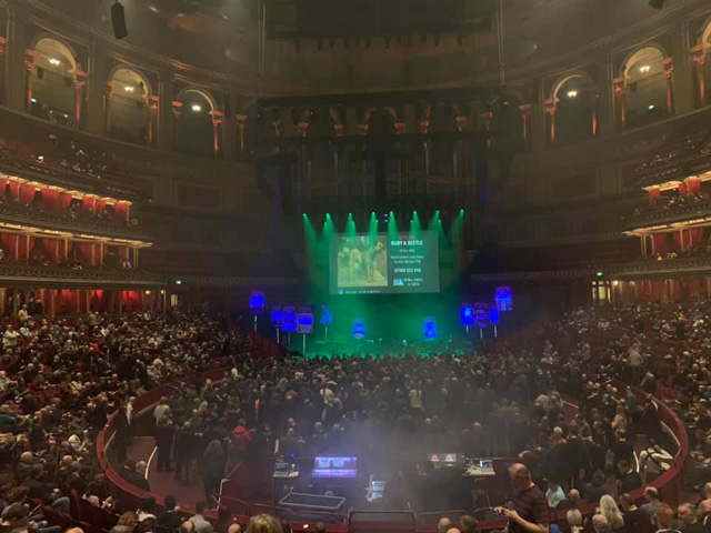 Hawkwind 50th anniversary tour Royal Albert Hall